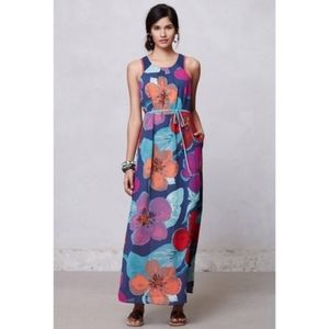 Anthropologie Maeve Pakpao Maxi Dress 6P